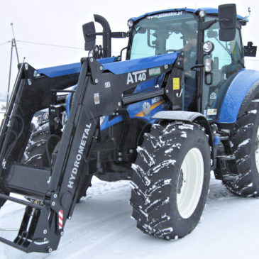 New Holland T5.120 Tier 4B – Grudzień 2018