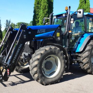 New Holland TS 115 — Июль 2019