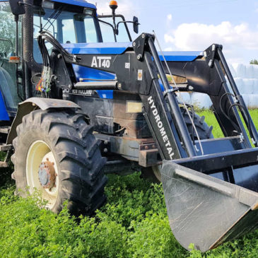 New Holland M100 – October 2019
