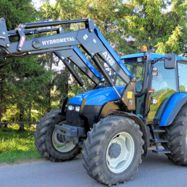 New Holland TS 115 — Апрель 2021